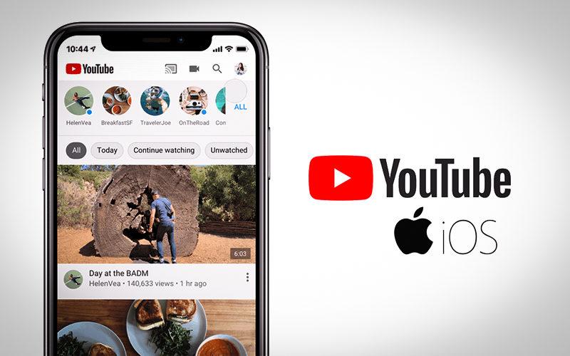 تبويبات جديدة يمنحها يوتيوب لمستخدمي نظام ios