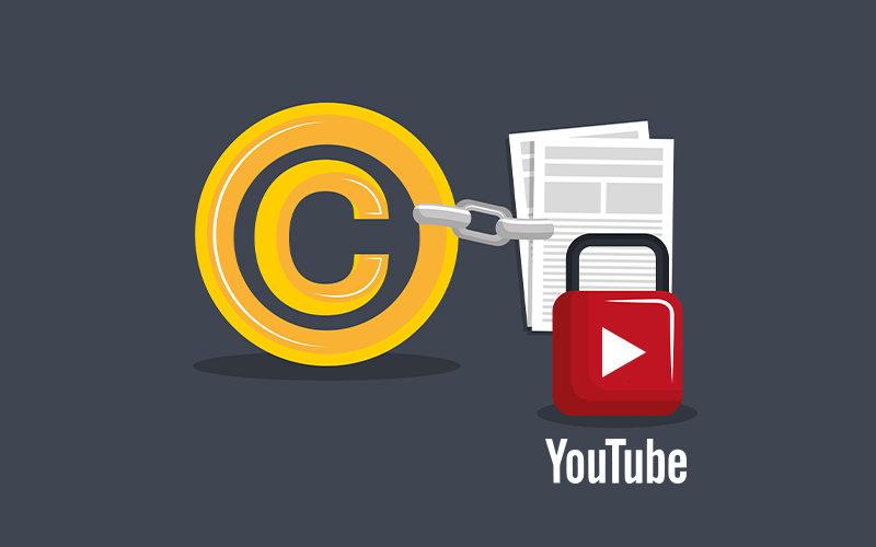 هل أرسل بلاغ حقوق للطبع والنشر لفيديو تم انتقادي به؟
