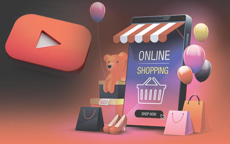 يوتيوب وخطوة جديدة نحو عالم التسوق