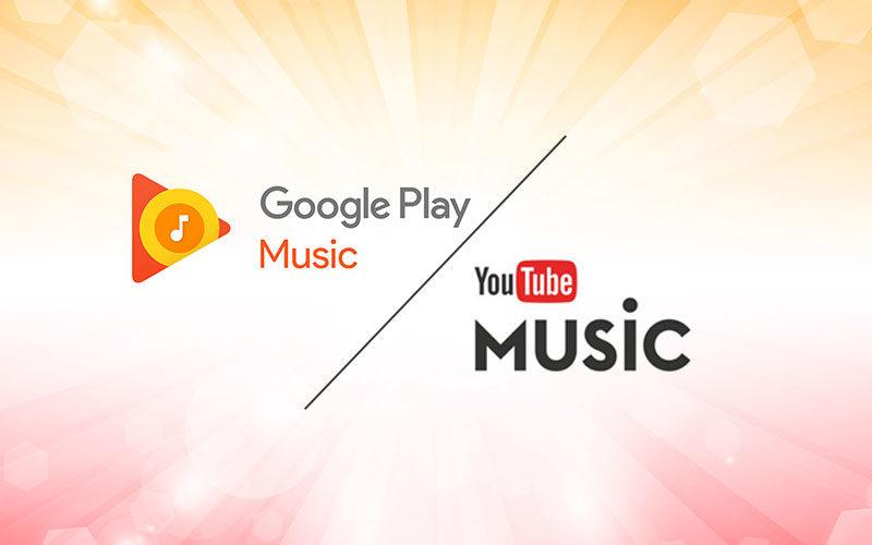 غوغل بلاي ميوزك تسلم الراية ليوتيوب ميوزك.. ماذا سيحصل؟